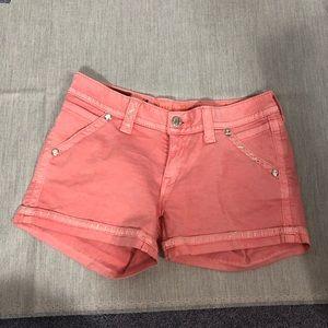 Pink Rock Revival shorts size 28